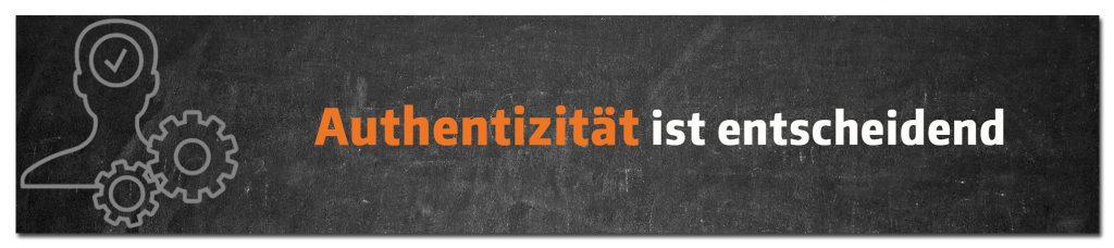 Im Branding ist Authentizität das Wichtigste